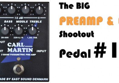 Carl Martin 3-Band Preamp in Shootout